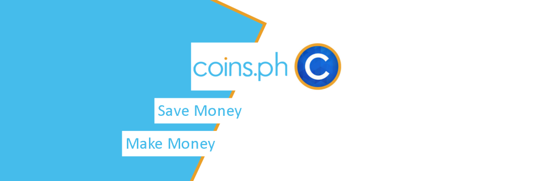 Feature image for blog post featuring coins.ph on how to save and make money using this app.